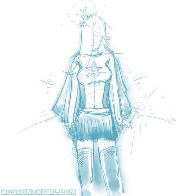 princess Rosalina nintendo crossplay supergirl