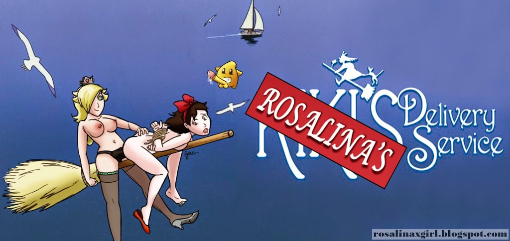 princess Rosalina nintendo ecchi hentai porn ghibli Kiki Delivery Service