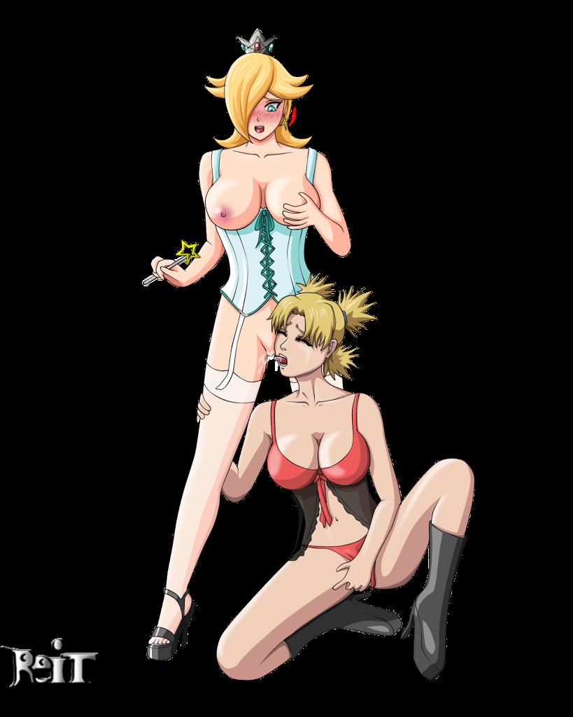 princess Rosalina nintendo hentai porn yuri lesbian naruto temari lingerie