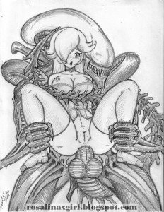 princess Rosalina nintendo hentai porn alien
