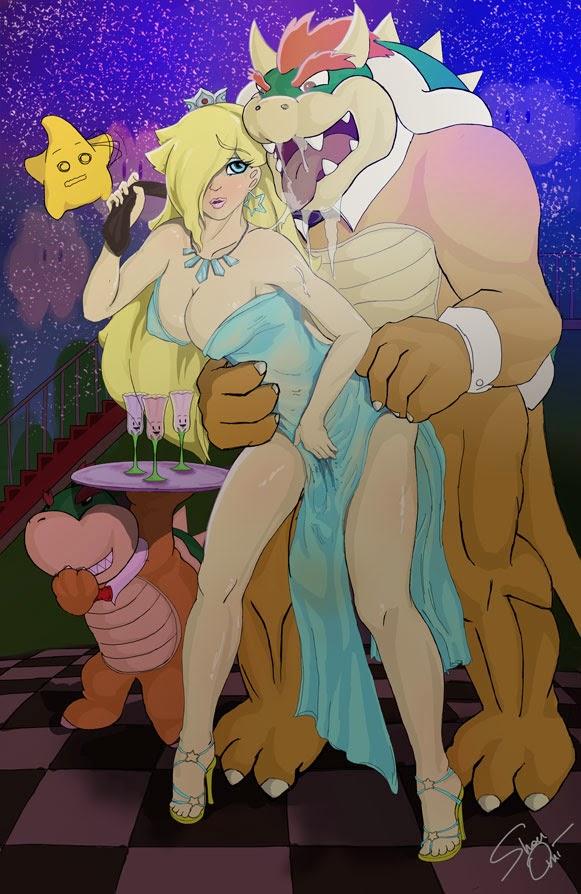 nintendo mario princess rosalina bowser hentai porn