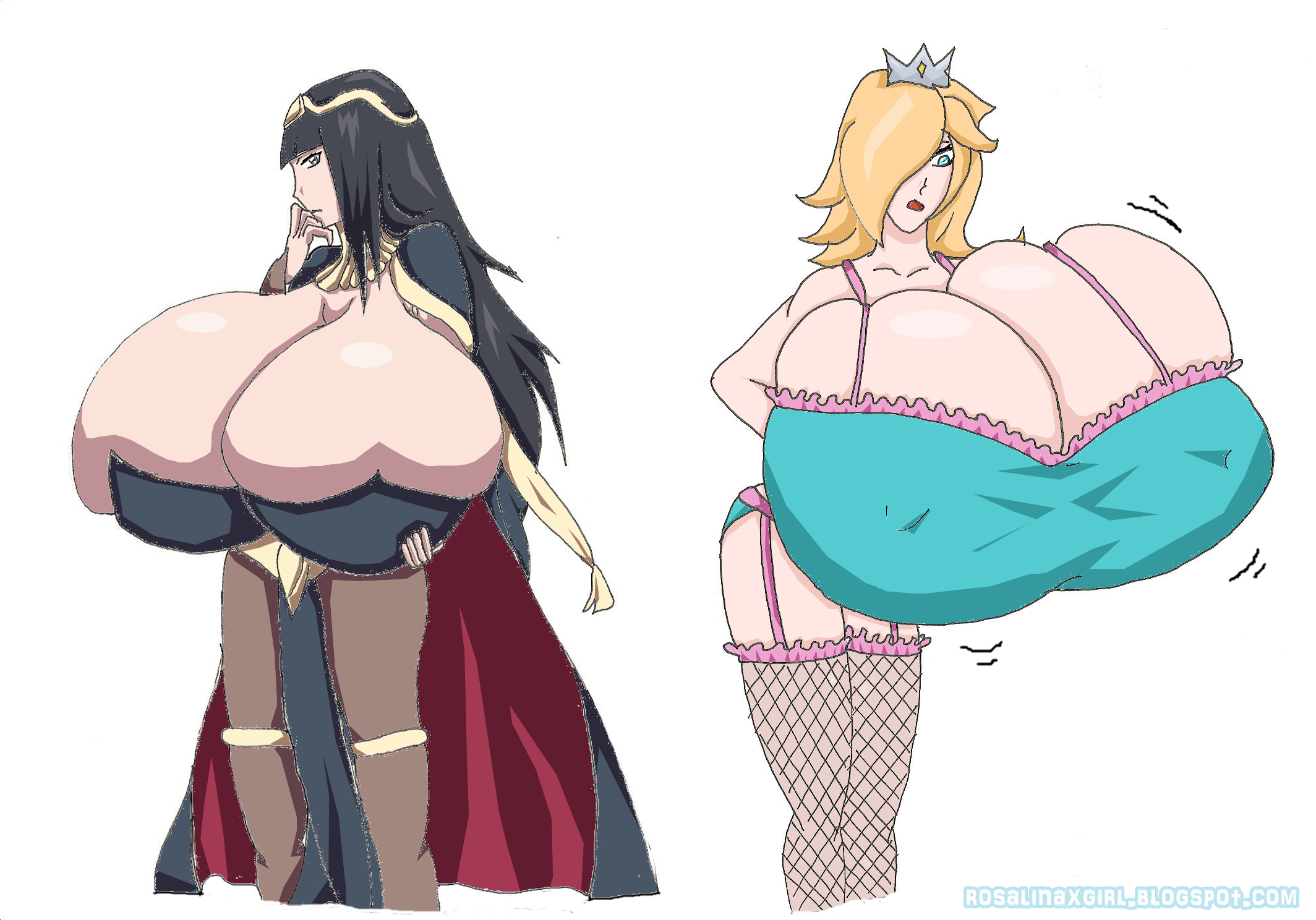 Rosalina Nintendo Tharja Fire Emblem big breast busty ecchi