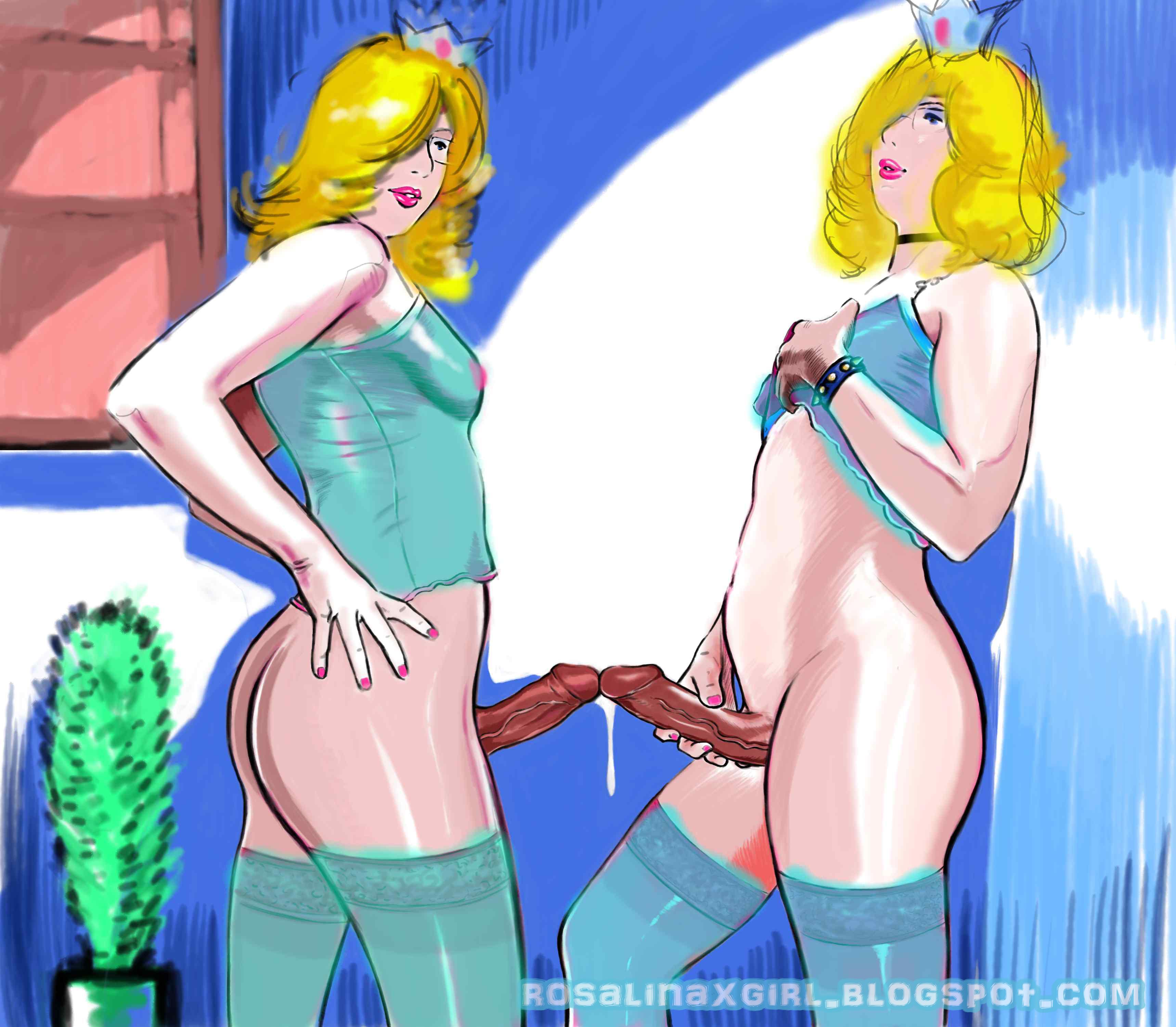 Rosalina Nintendo twins futa hentai