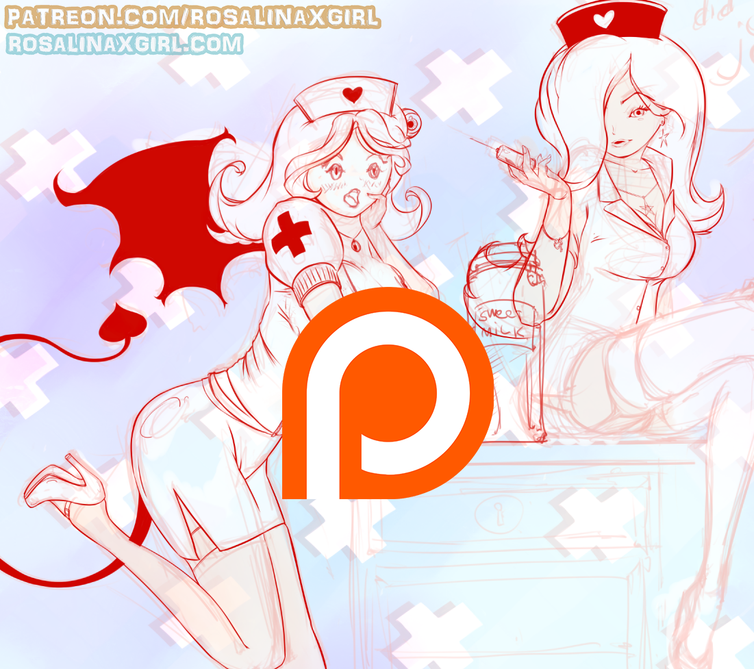 princess Rosalina nintendo hentai porn yuri lesbian demon nurse lactation milking