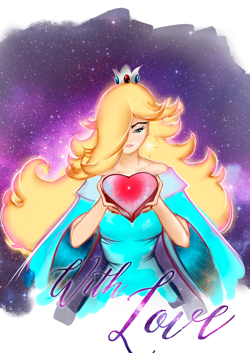 princess rosalina ecchi yuri lesbian meroko Full Moon wo Sagashite sexy sensual dance crossover
