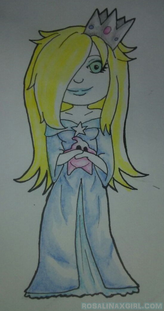 nintendo mario princess rosalina